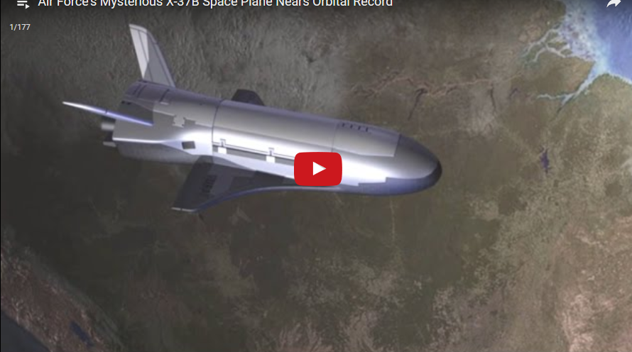 Mysterious Space Plane Orbital Record