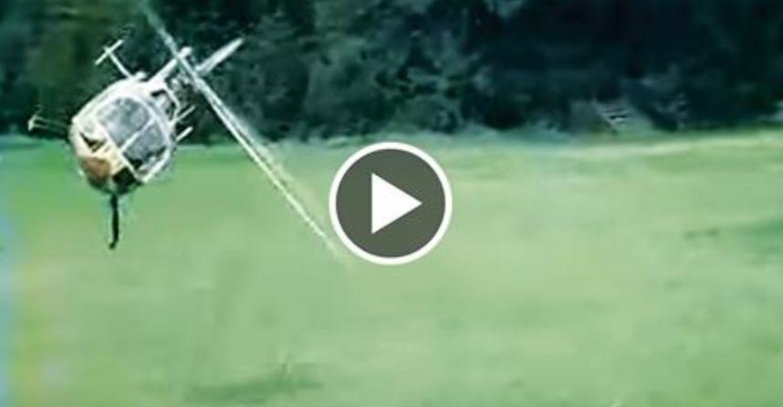 WATCH: Best Heli Pilot In The World...