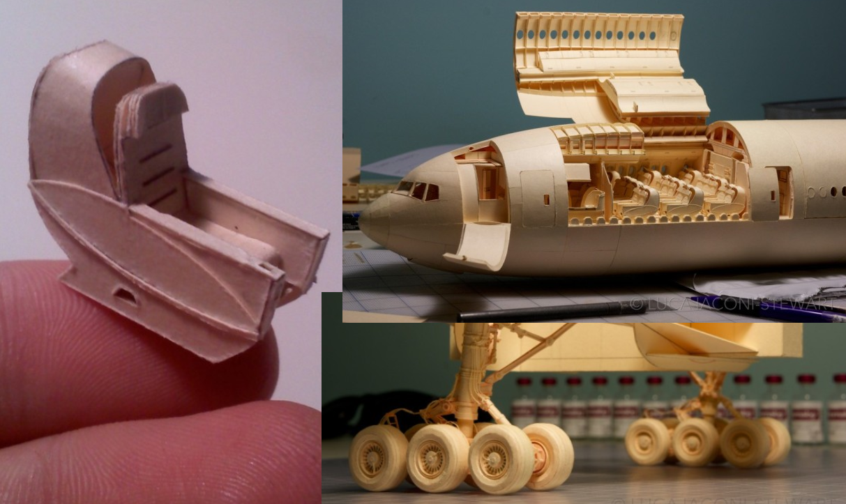 Try This At Home! This Kid Built An Incredibly Detailed Model Of A Boeing 777