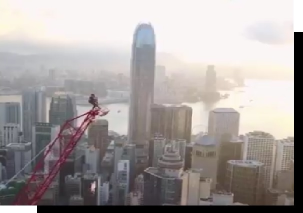 selfie top building accident fall